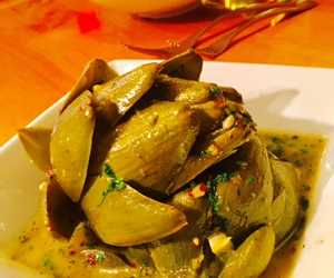 Back by popular demand- The Steamed Artichoke!