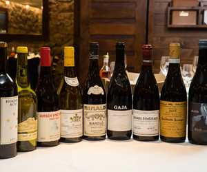 Stellar line up.....Just a sampling of Ellina's amazing wine list!