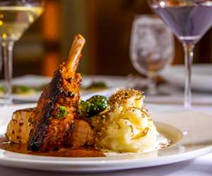 Ellina Restaurant + Bar Pork Chop -a down home favorite!